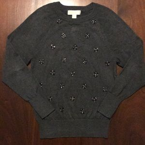 Michael Kors pullover charcoal sweater